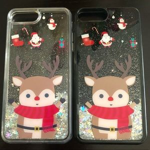 Accessories - iPhone 6/7/8 Plus Holiday Bling Case Bundle